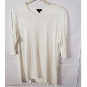 Wearever Collection J. Jill Tunic Top Size M